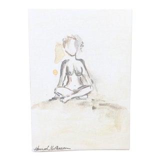 Neutral Nudes, No. 1 Original Acrylic Painting