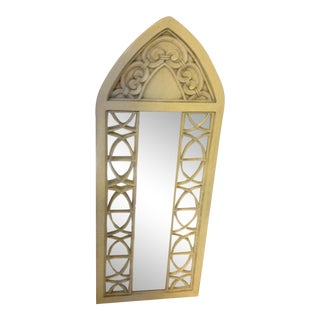 Regency Gilt Carved French Arch Mirror