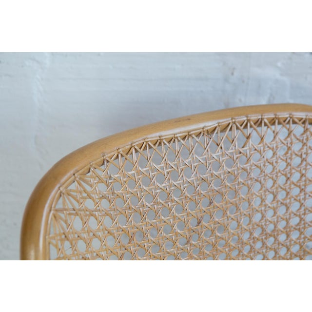 Prauge Cane Bentwood Woven Side Chairs - Set of 4 - Image 11 of 11