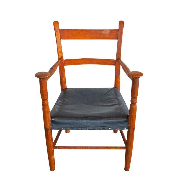 Primitive Arm Chair - Image 1 of 4