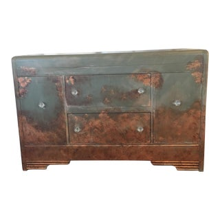 Green & Copper Waterfall Buffet