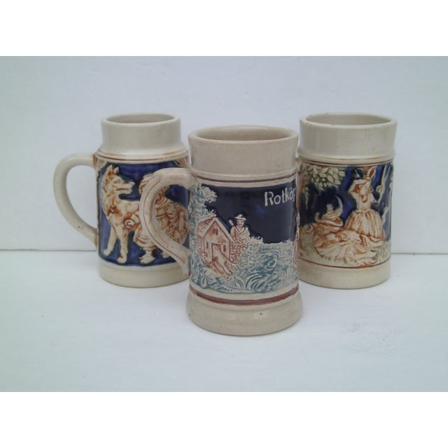 Antique German Childrens Steins - Set of 3 - Image 2 of 11