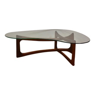 Adrian Pearsall for Craft Walnut Coffee Table