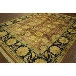 "Image of Oushak Collection Wool Area Rug - 8'1"" x 9'9"""