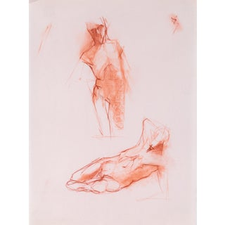 Red Chalk Gesture Drawing