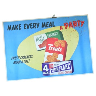 Make Every Meal A Party Fresh Crackers Poster