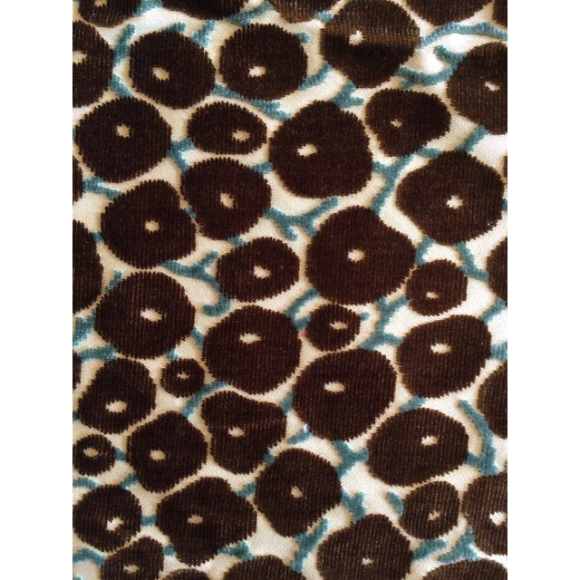 Velvet Brown Berry Fabric - Image 1 of 2