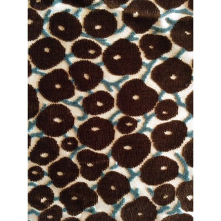 Velvet Brown Berry Fabric