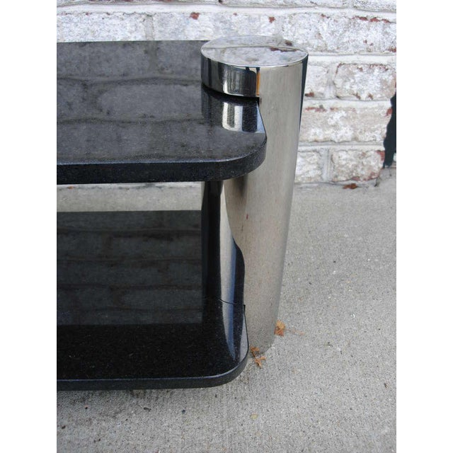 Image of Vintage Brueton Two-Tier Sidetables (Pair)