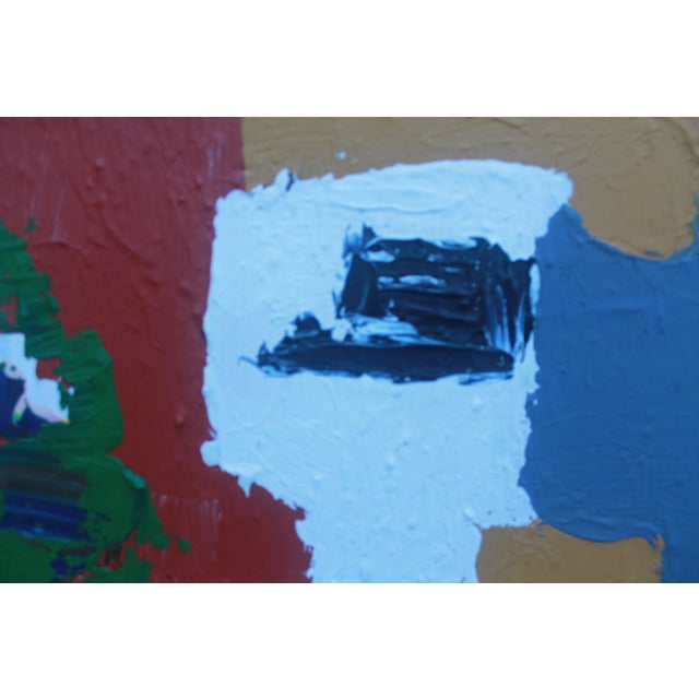 Mid-Century Modern Abstrac Expressionist Painting - Image 6 of 11