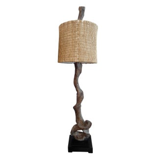 Uttermost Branch Table Lamp With Burlap Shades