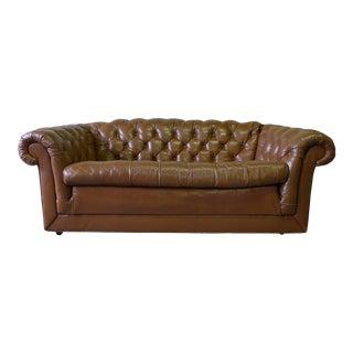 Mid Century Chesterfield Sofa