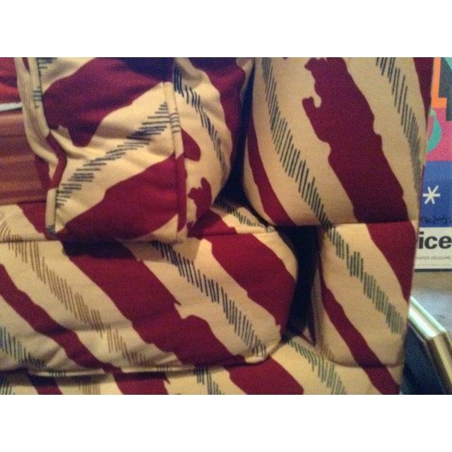 Schumacher Custom Stripe Sofa - Image 5 of 6