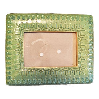 Green Earthenware Frame