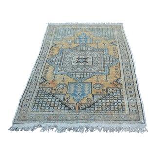 Vintage Anatolian Tribal Rug - 3′11″ × 5′8″
