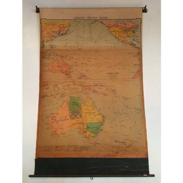 Vintage Map of Australasia - Image 2 of 3
