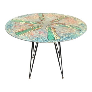 Decalage Painted Dining Table