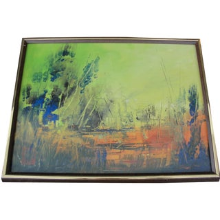 Abstract Painting by Cliff Freeland