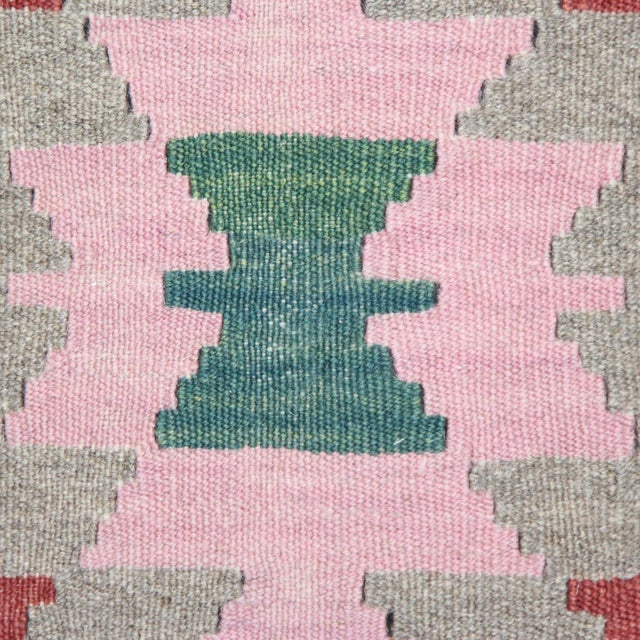 Turkish Handmade Kilim Pillow Cover - Image 3 of 4