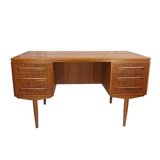 A.P Mobler Dual Sided Sculpted Handle Desk