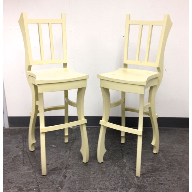 Image of Custom Designed Stools - A Pair