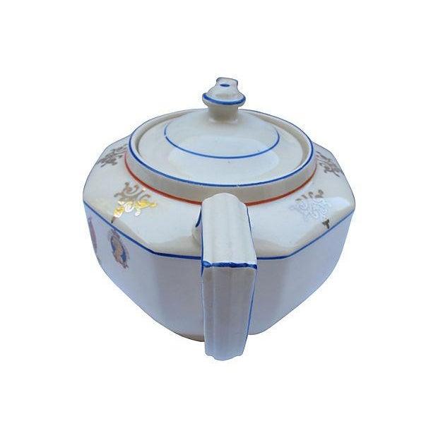 1937 King George VI Coronation Tea Pot - Image 3 of 5