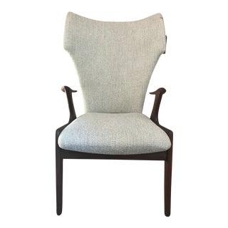 Kurt Ostervig Rosewood High-Back Chair