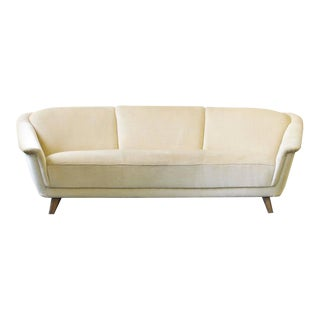 1950s Curved German Sofa