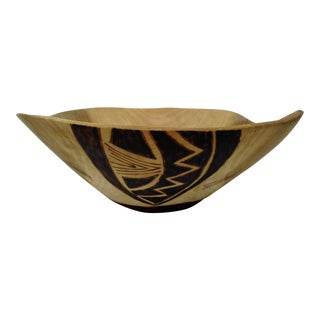 Free Form Wood Centerpiece Bowl