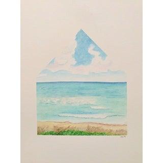 Sea Homescape No.4 Original Watercolor