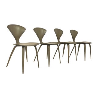 Norman Cherner for Plycraft Vintage Chairs - Set 4