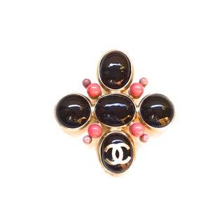 Chanel Maltese Cross Brooch