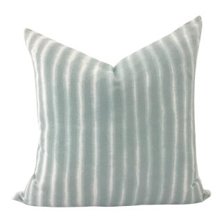 Daisy Sullivant Hand Dyed Striped Pillow