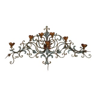 Antique French Wall Chandelier