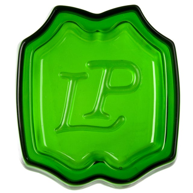 French Laurent Perrier Champagne Bottle Coaster - Image 1 of 3