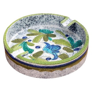 Mid-Century Italian Art Pottery Ashtray