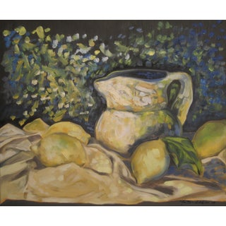 Still Life With Lemons Painting
