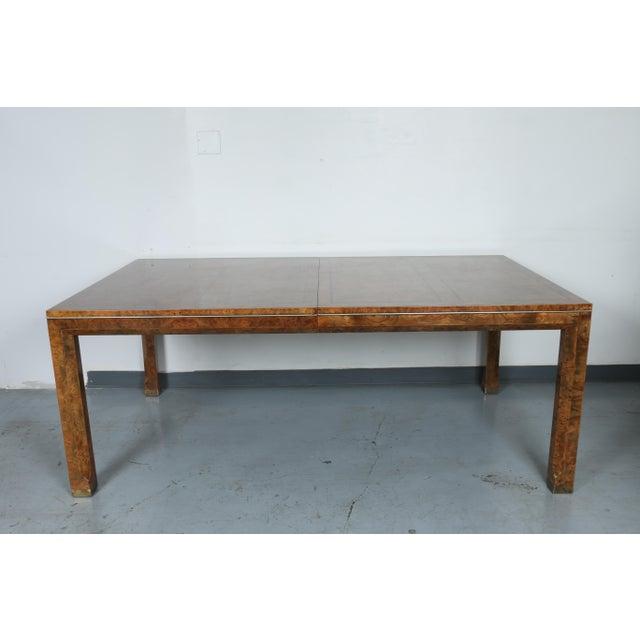 Master Burlwood Dining Table - Image 2 of 11