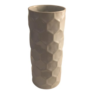 West Elm Honeycomb Vase