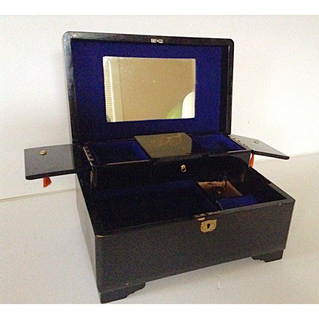 Large Japanese Jewelry/Music Box - Image 5 of 8