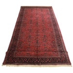 "Image of Persian Sarouk Wool Rug - 9'7"" x 23'5"""