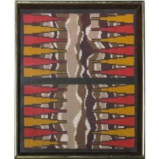Backgammon Board Needlepoint