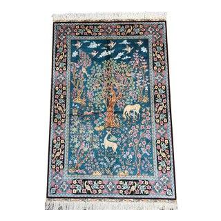 Tabriz Tree of Life Rug - 3′ × 4′7″