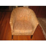 Image of Designer Cork Side Chair - a Pair