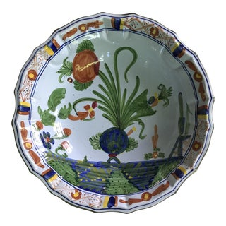 Vietri Italian Hand Painted Bowl