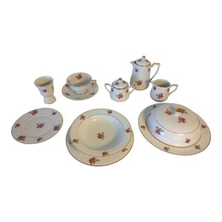 Vintage 1940's-1950's Vogue Breakfast Set - Set of 13