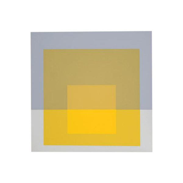 "Josef Albers ""Portfolio 2, Folder 5, Image 1"" Print - Image 1 of 3"