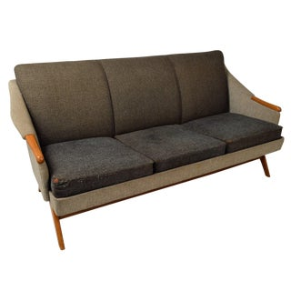 Danish Modern Oak Sofa