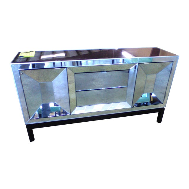 Art Deco Style Mirrored Cabinet/Sideboard - Image 1 of 7