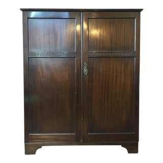 Mahogany Greek Key Chiffarobe